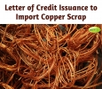 Letter of Credit Issuance to Import Copper Scrap