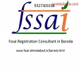 Fssai registration consultant is baroda