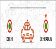 Grab a best deal during lockdown from Delhi to Dehradun Taxi