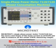 Single-Phase Power Meter 7110/7120-Sinetec Automation Pvt