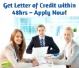 Get Letter of Credit within 48hrs – Apply Now!