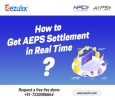 AEPS Software with 24*7 Real-Time AEPS Settlement