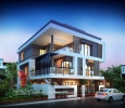 Remarkable 3D Bungalow Elevation Designing From One Of The