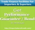 Performance Guarantee for Suppliers & Contractors