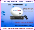 Tata Sky New HD connection | Thalaiva pack – 9043743890