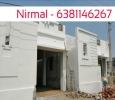 2.6cents DTCP Approved, 1100sqft 2Bhk individual House for s