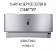 Sharp ac service center in Coimbatore