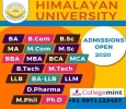 Himalayan University:Distance Education Admissions Courses