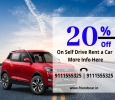 Self Drive Car on Rent in Indore with Driver |Book now &get