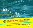 Online Iron and Steel Products at eConstructionMart