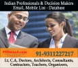 Indian Professionals Database – 9350804427