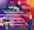 Low-Cost ICU Air and Train Ambulance in Dibrugarh