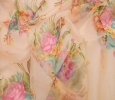Online shopping for unstitched organza printed fabric collec