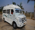 10 Seater AC or Non AC Tempo Traveller Rent