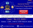 General Data Protection Regulation Training & Certification