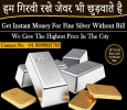 Cash for Silver in Noida | Silver Buyer in Gurgaon