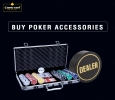 Top-Quality Poker Accessories Up For Sale at Casinokart