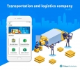 Get the best Transport and Logistics App development at Webg